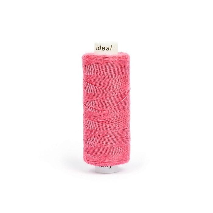 Нитки бытовые IDEAL 40/2 366м 100% п/э, цв.173 розовый - фото 246873