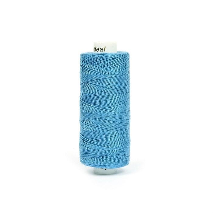 Нитки бытовые IDEAL 40/2 366м 100% п/э, цв.339 синий - фото 246939