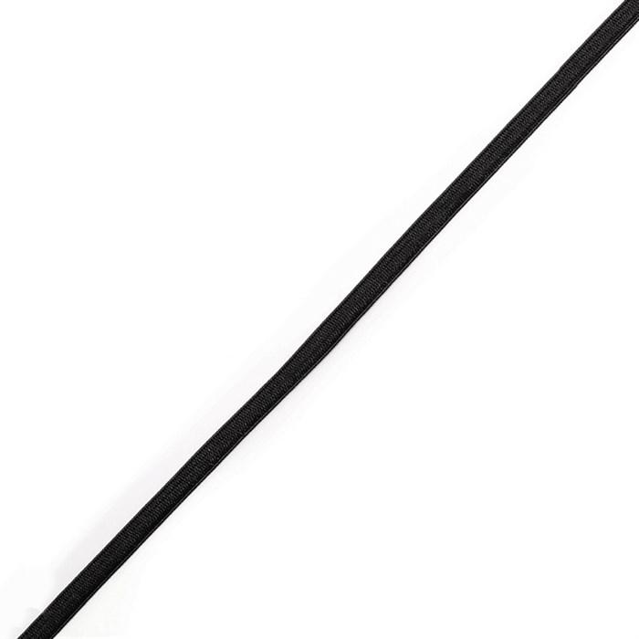Резинка вязаная 3,9г арт.ТВ-004мм цв.черный уп.200м - фото 247126