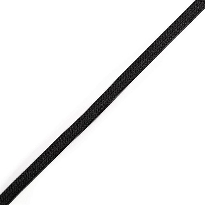 Резинка вязаная 3,9г арт.ТВ-008мм цв.черный уп.100м - фото 247127
