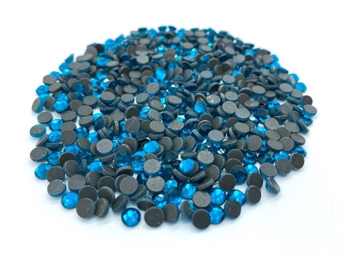 Стразы арт.BS-DMC клеевые арт.SS-20 цв.229 BLUE ZIRCON упак.1440 шт. - фото 247474