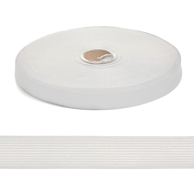 Тесьма вязаная окантовочная  18мм  арт.3С-235/18  цв. белый  уп.50м - фото 247660