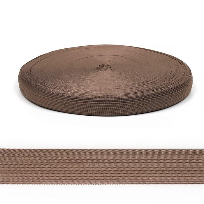 Тесьма вязаная окантовочная, 22мм, арт.4С-516/22 ,цв. 37 т.бежевый - фото 247664
