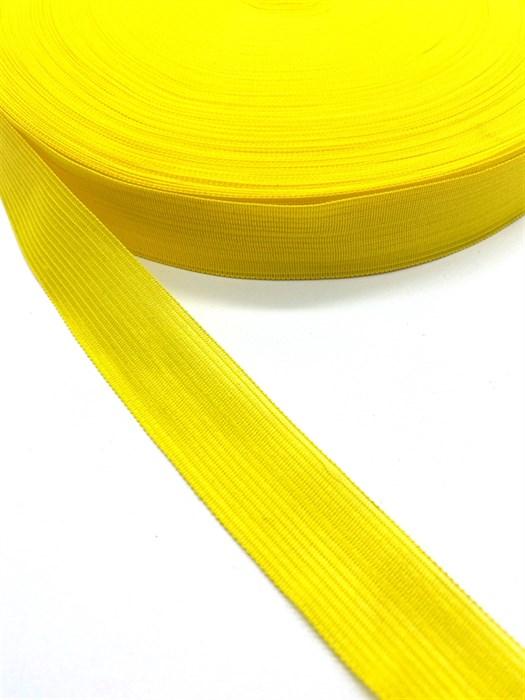 Тесьма вязаная окантовочная, 22мм, арт.4С-516/22 ,цв. 50 лимон - фото 247670
