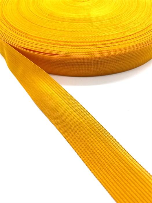 Тесьма вязаная окантовочная, 22мм, арт.4С-516/22 ,цв. 16 желтый - фото 247672