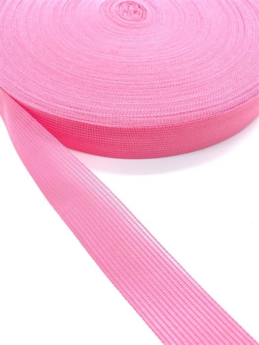 Тесьма вязаная окантовочная, 22мм, арт.4С-516/22 ,цв. 90 розовый - фото 247674