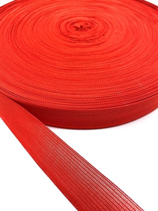 Тесьма вязаная окантовочная, 22мм, арт.4С-516/22 ,цв.115 красный - фото 247675