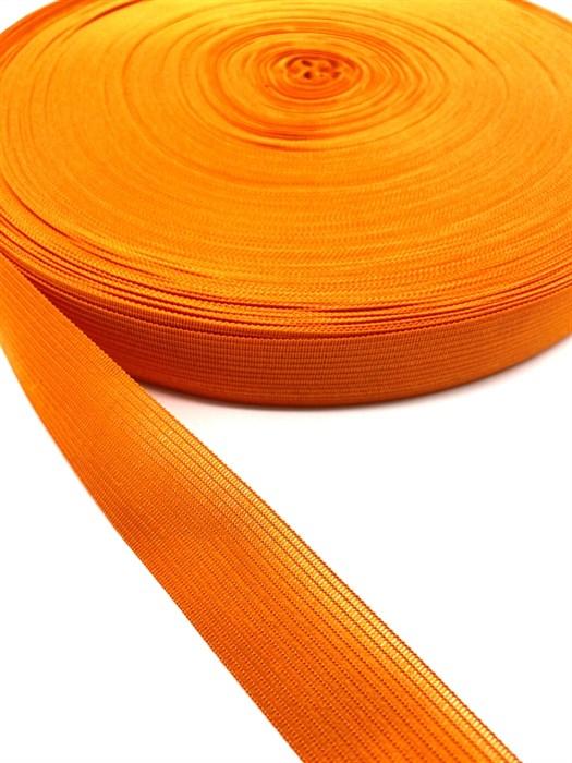 Тесьма вязаная окантовочная, 22мм, арт.4С-516/22 ,цв. 77 оранжевый - фото 247676