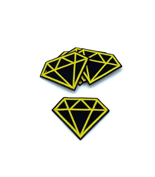 Термоаппликации арт.KT #4-9 Diamond 48х38мм уп.5 шт - фото 248063