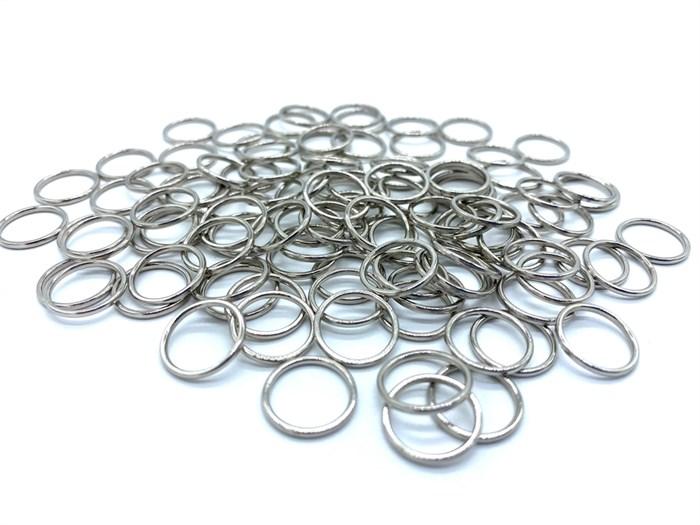 Кольцо для бюстгальтера металл d10мм арт.KLDB-10 цв.серебро уп.100шт (+-5шт) - фото 248270