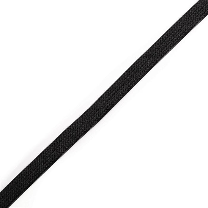 Резинка вязаная арт.ТВ-10мм цв.черный упак.100м - фото 248705