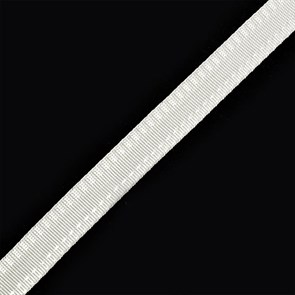 Тесьма брючная (полиэфирная) арт.4316 шир.15мм цв.белый  А