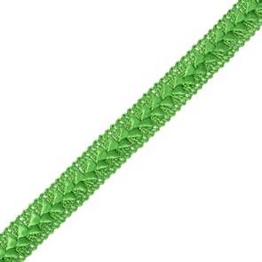 Тесьма самоса арт.ШМ.20-А шир.20мм цв. яр.зеленый  А