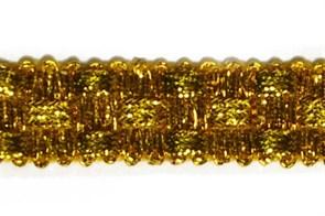 Тесьма отделочная  арт.8286  шир. 15 мм  цв. золото  уп.18,28м