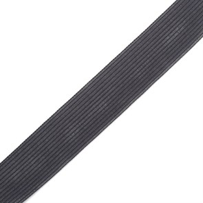 Тесьма вязаная окантовочная, 22мм, арт.4С-516/22 ,цв.400 т.серый