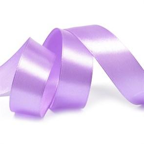 Лента атласная 1' (25мм) цв.3114 фиолетовый IDEAL уп.27,4 м