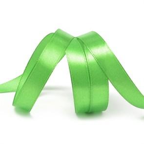 Лента атласная 1/2' (12мм) цв.3043 св.зеленый IDEAL уп.27,4 м