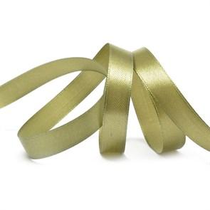 Лента атласная 1/2' (12мм) цв.3149 оливковый IDEAL уп.27,4 м
