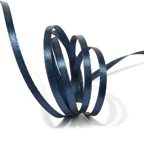Лента атласная 1/8' (3мм) цв.3168 т.синий IDEAL уп.100 м