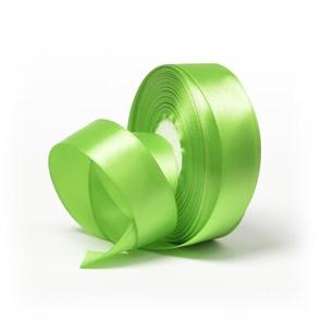 Лента атласная 1' (25мм) цв.3038 зеленый IDEAL уп.27,4 м