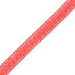 Тесьма самоса арт.ШМ.35-А шир.20мм цв. коралловый  А
