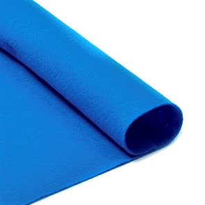 Фетр листовой мягкий IDEAL 1мм 20х30см арт.FLT-S1 уп.10 листов цв.683 василек