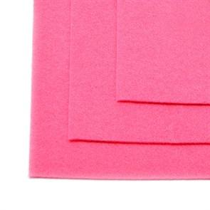 Фетр листовой жесткий IDEAL 1мм 20х30см арт.FLT-H1 уп.10 листов цв.614 розовый