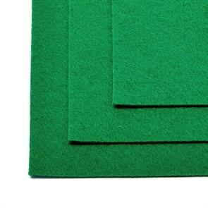Фетр листовой жесткий IDEAL 1мм 20х30см арт.FLT-H1 уп.10 листов цв.672 зеленый