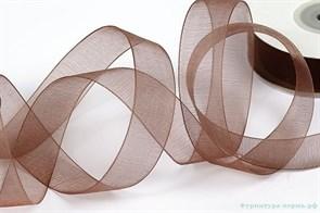 Лента капрон IDEAL арт.JF-001 шир.20мм цв.4131 коричневый