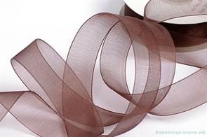 Лента капрон IDEAL арт.JF-001 шир.20мм цв.4134 т.коричневый