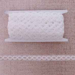 Резинка, ширина 15мм, 10±1м, цвет белый арт.1564631