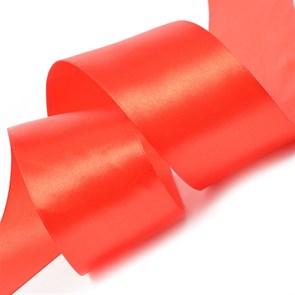 """Лента атласная 2"""" (50мм) цв.3095 красный IDEAL уп.27,4 м"""