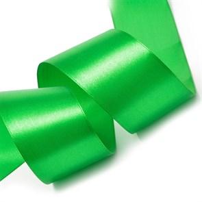 """Лента атласная 2"""" (50мм) цв.3042 зеленый IDEAL уп.27,4 м"""