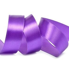 """Лента атласная 1"""" (25мм) цв.3118 фиолетовый IDEAL уп.27,4 м"""