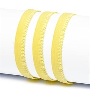 Резинка TBY бельевая 10мм арт.RB03108 цв.F108 пастельно-желтый уп.100м