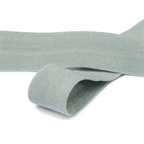 Резинка TBY окантовочная матовая 15мм арт.ROM.15319 цв.F319 серый уп.50 м