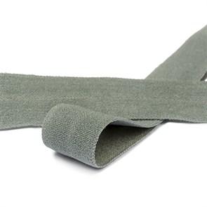 Резинка TBY окантовочная матовая 15мм арт.ROM.15312 цв.F312 т.серый уп.50 м