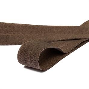 Резинка TBY окантовочная матовая 15мм арт.ROM.15304 цв.F304 т.коричневый уп.50 м