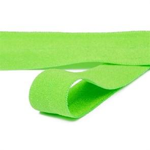 Резинка TBY окантовочная матовая 15мм арт.ROM.15238 цв.F238 ярк.зеленый уп.50 м