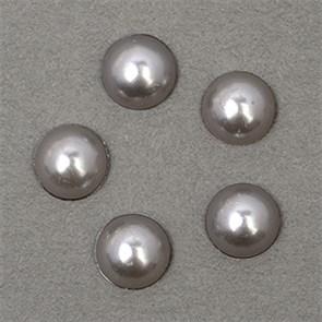 Полужемчужины MAGIC 4 HOBBY перламутр 8 мм цв.H31 (серый) уп.20г