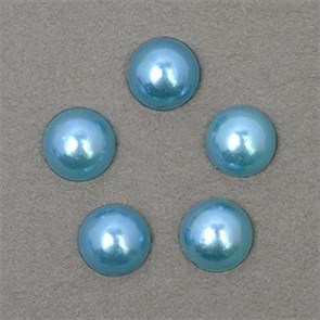 Полужемчужины MAGIC 4 HOBBY перламутр 8 мм цв.H07 (синий) уп.20г