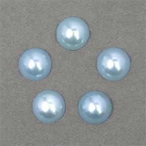 Полужемчужины MAGIC 4 HOBBY перламутр 8 мм цв.H06 (голубой) уп.20г