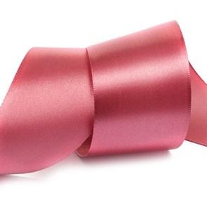 """Лента атласная 2"""" (50мм) цв.4174 красно-розовый IDEAL уп.27,4 м"""