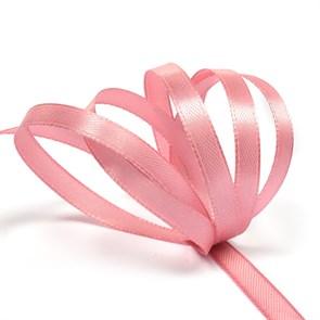 """Лента атласная 1/4"""" (6мм) цв.4149 розовый IDEAL уп.27,4 м"""