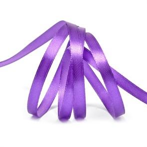 """Лента атласная 1/4"""" (6мм) цв.3118 фиолетовый IDEAL уп.27,4 м"""