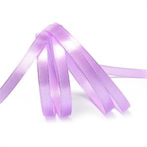 """Лента атласная 1/4"""" (6мм) цв.3114 фиолетовый IDEAL уп.27,4 м"""