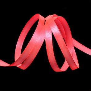 """Лента атласная 1/4"""" (6мм) цв.3079 яр.розовый IDEAL уп.27,4 м"""