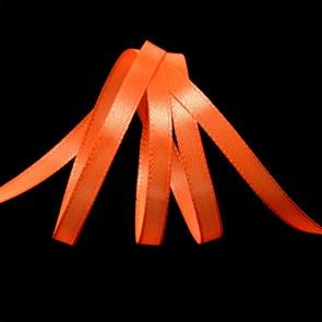 """Лента атласная 1/4"""" (6мм) цв.3070 оранжевый IDEAL уп.27,4 м"""