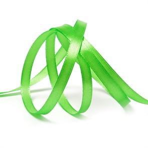 """Лента атласная 1/4"""" (6мм) цв.3038 зеленый IDEAL уп.27,4 м"""