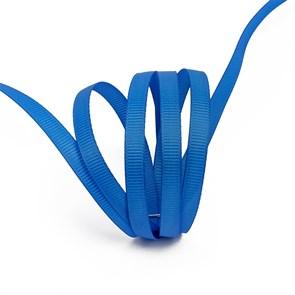 Лента Ideal репсовая в рубчик шир.6мм цв. 366 (170) ярк.синий уп.27,42м